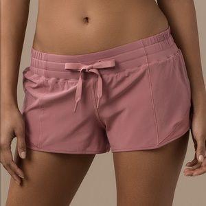 Lululemon Dark Pink Hotty Hot Short